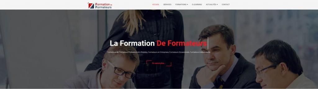 Site internet formation-formateurs