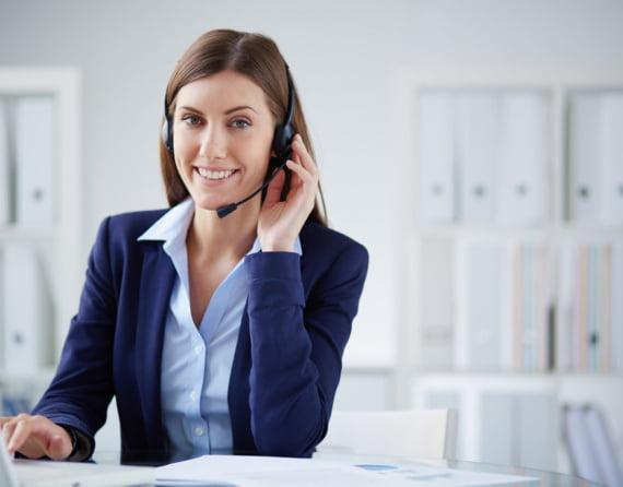 Téléconseiller en centre d'appels